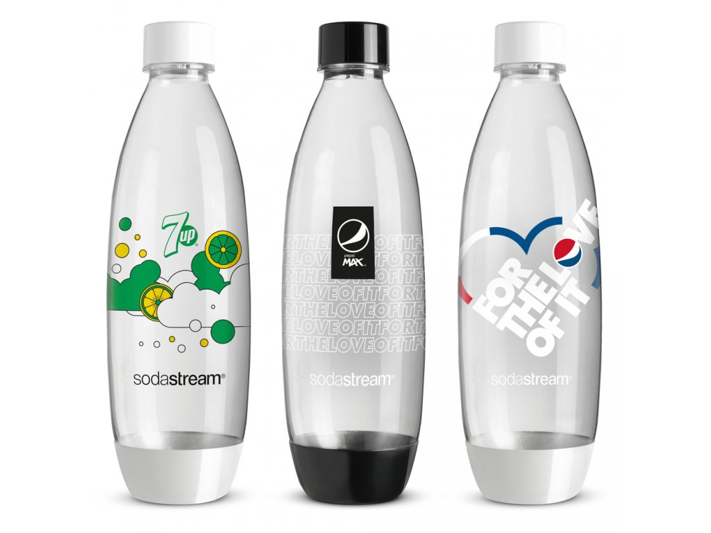 SODASTREAM Fľaša FUSE 3 x 1l PEPSI 1