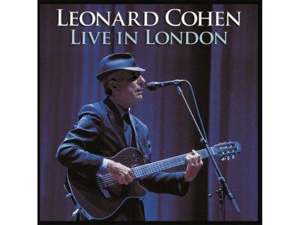 LP Cohen Leonard Live in London 3LP