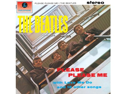 LP Beatles Please,please me