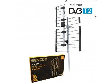 Sencor SDA 630 DVB T anténa von1