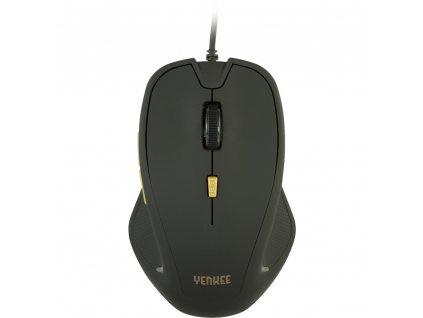 Yenkee YMS 1010BK Myš USB Dakar Black 1