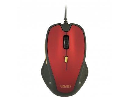 Yenkee YMS 1010RD Myš USB Dakar Red 1