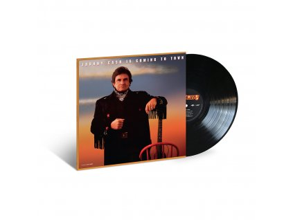 Cash Johnny Is Coming To Town lp