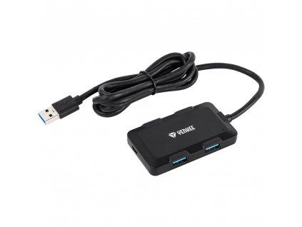 Yenkee YHB 4341BK Hub 4x USB 1