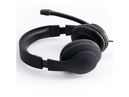 Hama PC Office stereo headset HS P200, čierny 2