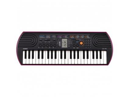 Casio SA 78 detské klávesy 1