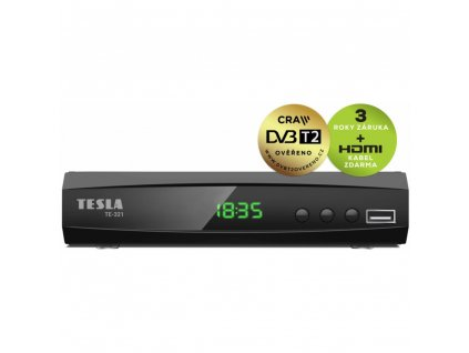 Tesla TE 321 DVB T2 prijimac