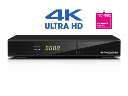 AB CryptoBox 800UHD DVB S2 4K prijímač