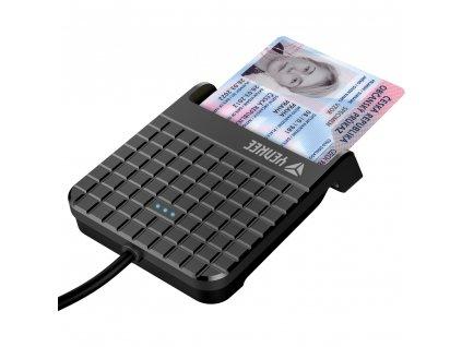 Yenkee YCR 101 USB čítačka čipových kariet 1