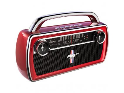 ION Mustang Stereo Red 1