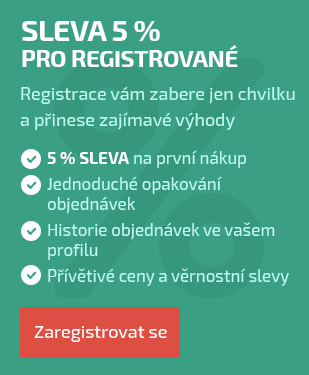 Sleva za registraci 5%