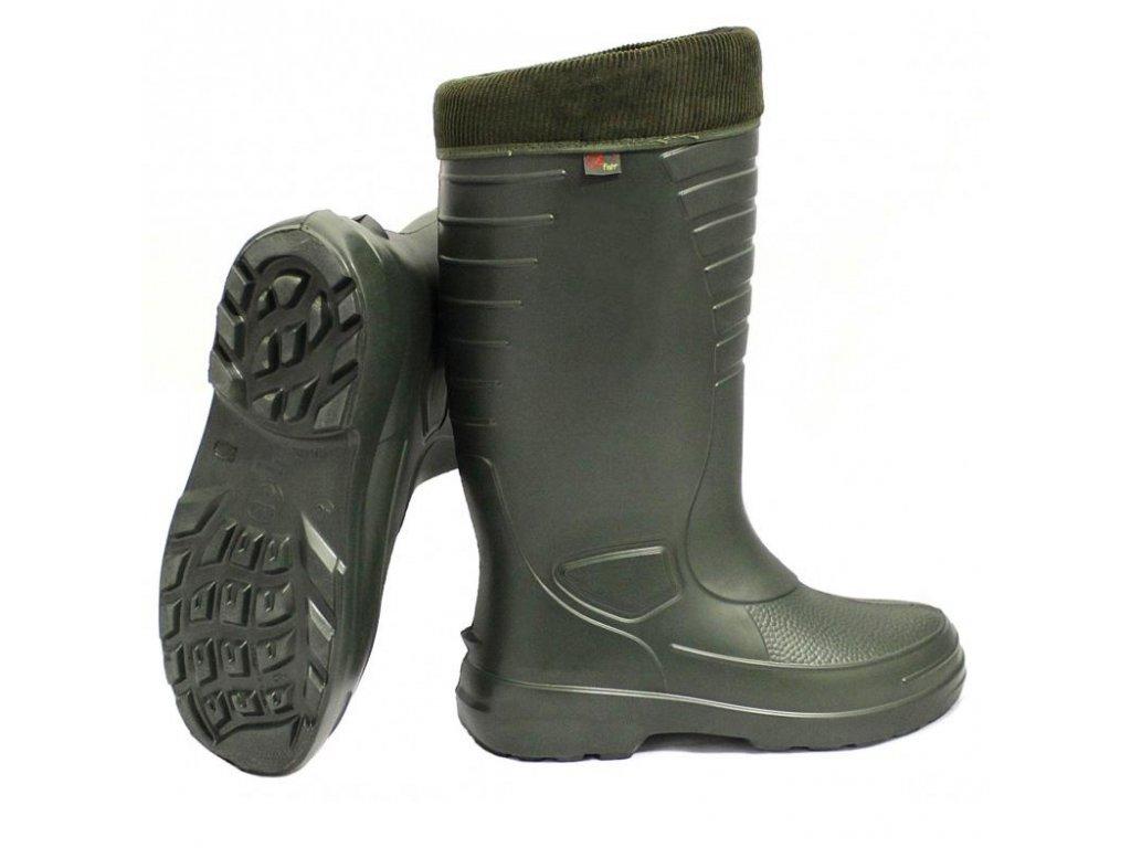 Zfish Holínky s termo vložkou Greenstep Boots -30°C