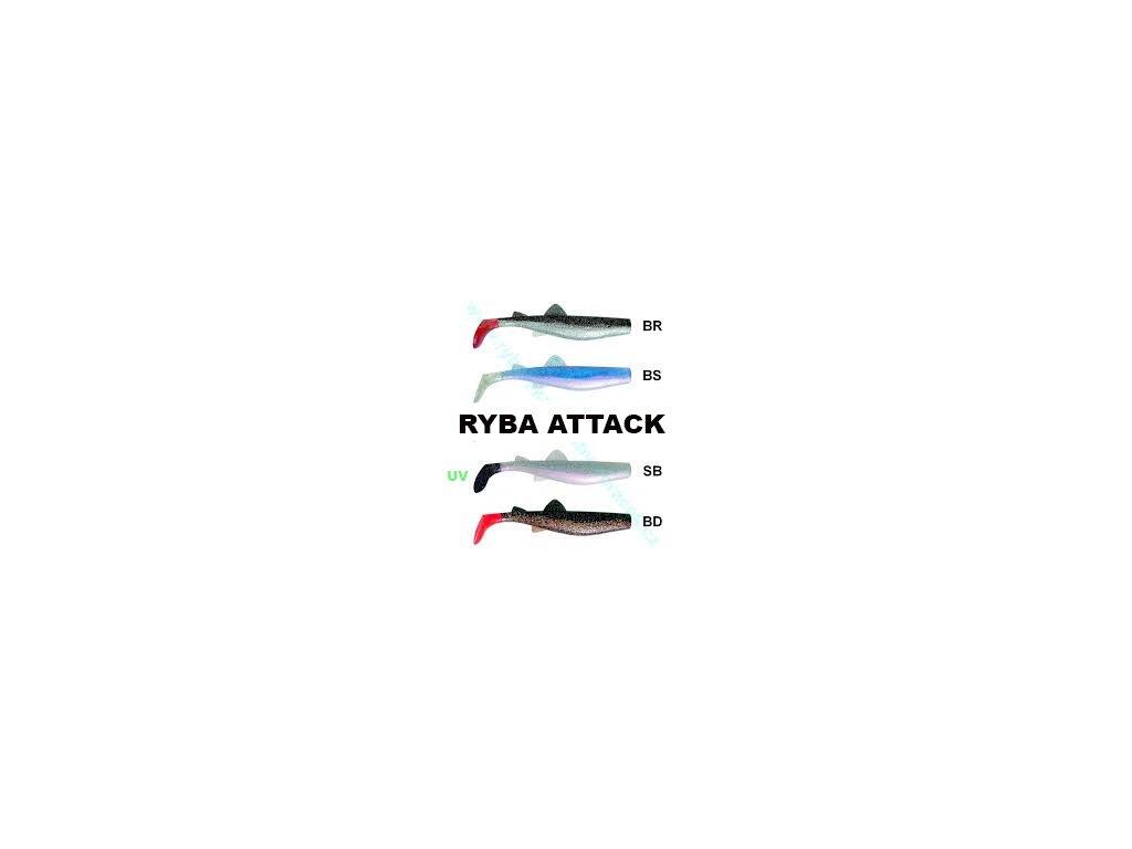 Ryba Attack 20cm