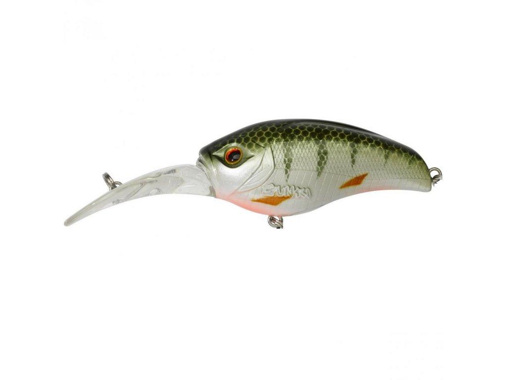 Wobler Gunki Gigan 5,5cm F Green Perch