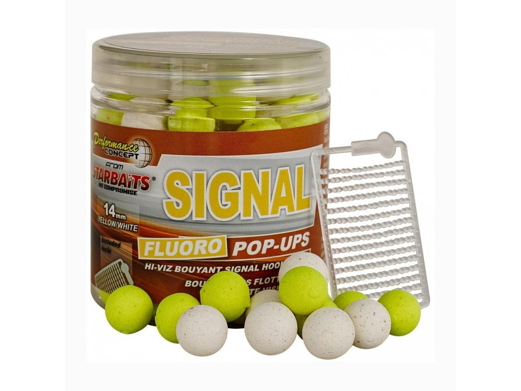STARBAITS Signal 80g Pop-Up FLUO