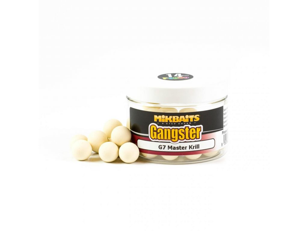 Mikbaits Gangster pop-up boilie 150ml 14mm
