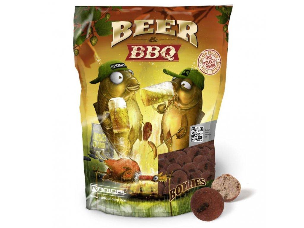 Radical Beer & BBQ Boilies 1kg