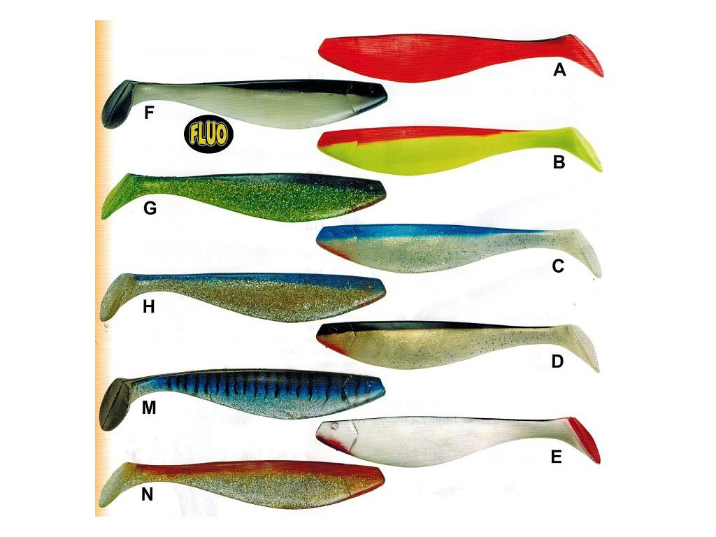 Ryba na moře 2ks blistr (Barva C)