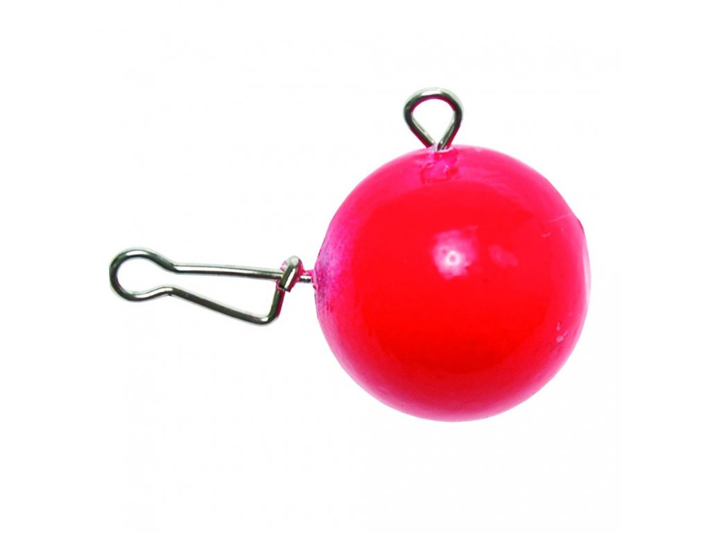 Vláčecí hlavička - červená fluo (Gramáž 5g)