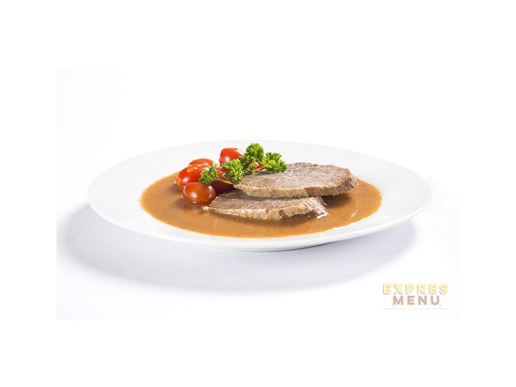 2 porce Expres Menu Rajská s hovězím masem