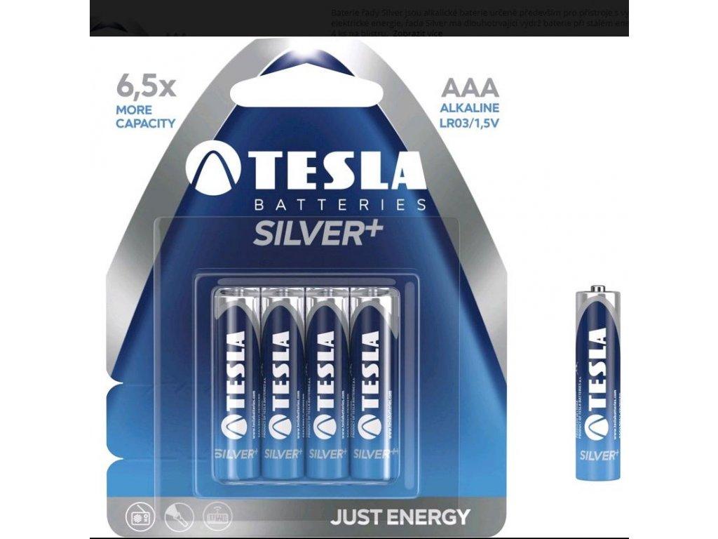 Baterie mikrotužková Tesla AAA 1,5V
