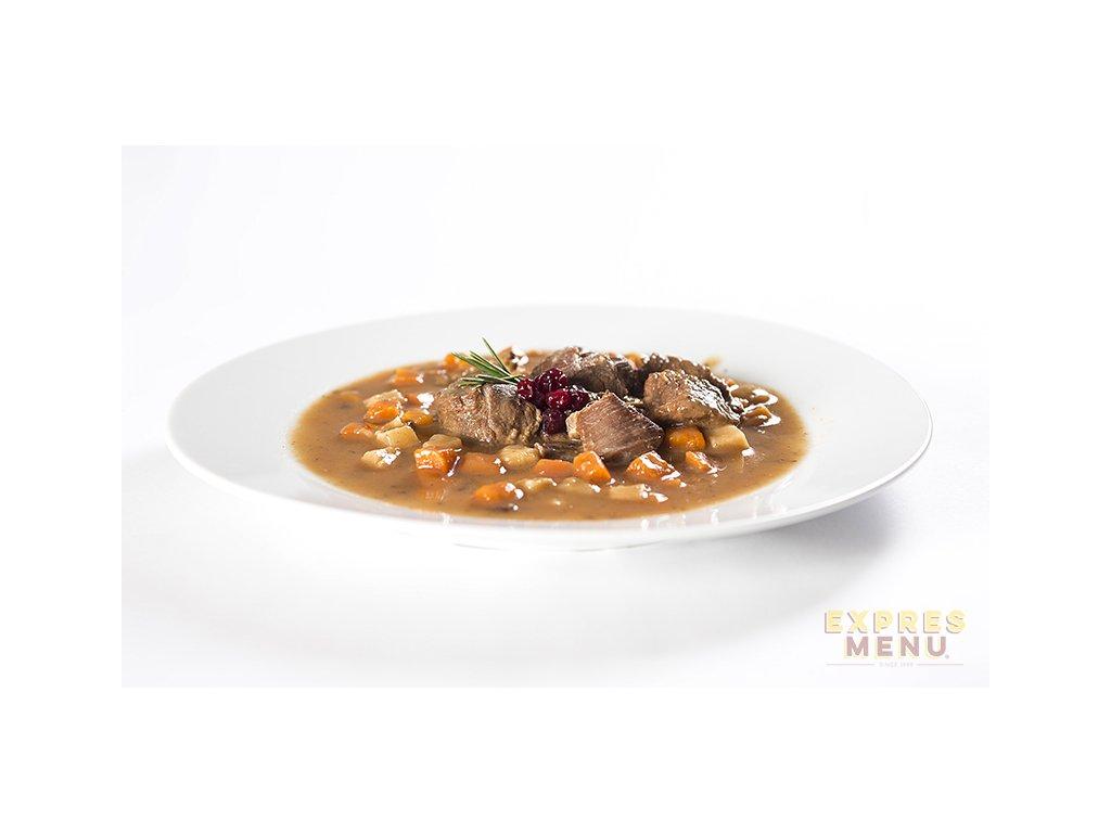 5522 2 porce expres menu jeleni ragu