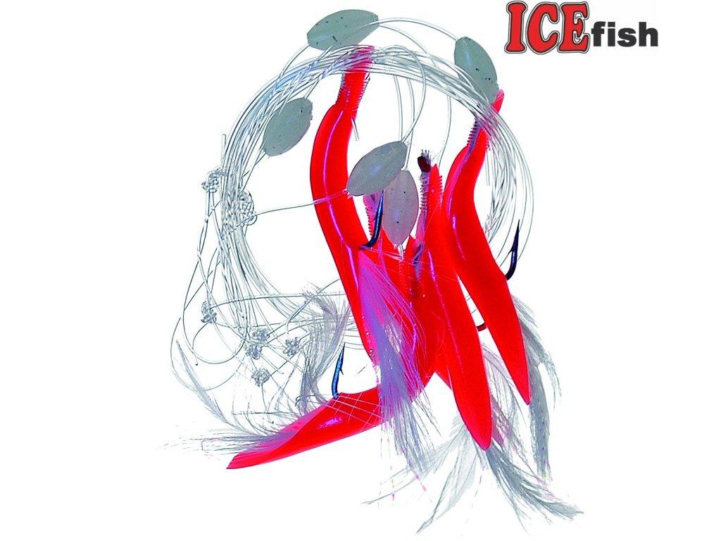 návazec moře 1172 červené trubičky