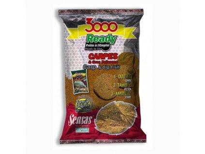Sensas Krmení 3000 Ready 1,25kg Kapr