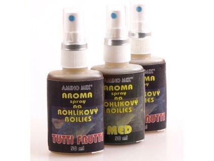 Aroma spray na rohlíkové boilie 50ml (Příchutě Ananas)