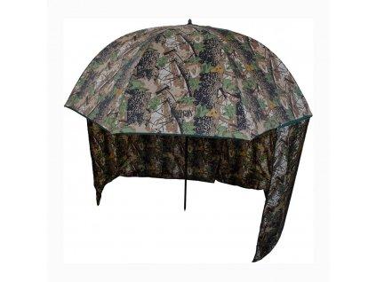 Deštník s bočnicemi SENSAS Forest 2,5m