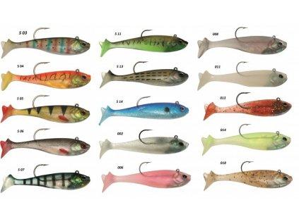 Ryba s háčkem 20cm 115g