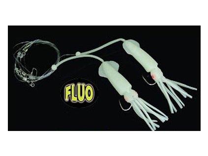 Návazec oliheň fluo velká DUO