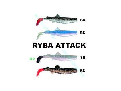 Ryba Attack 20cm (Barva BD)