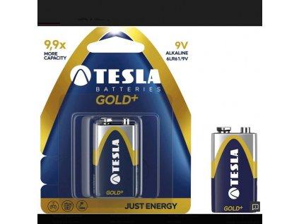 13181 1 baterie tesla 9v gold
