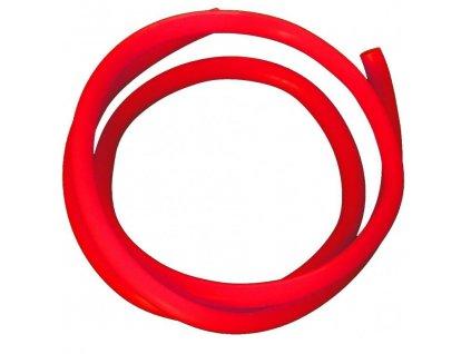 Červená trubička na mořské návazce