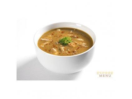 2 porce Expres Menu Dršťková polévka