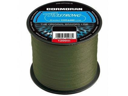Pletená šňůra Corastrong 1m (Corastrong 0,10mm 4,6kg)