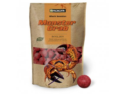 Quantum Radical Red Monster Boilie 1kg (Průměr 16mm)