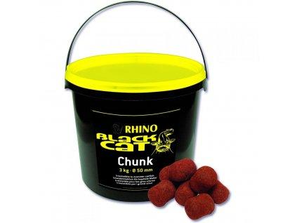 Black Cat sumcové pelety Chunk 50mm 3kg