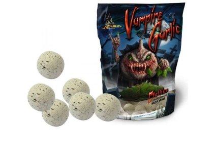 Radical Vampire Garlic Boilies 1kg (Průměr 20mm)