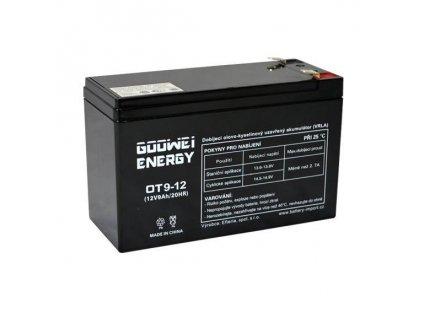 Baterie k echolotu - sonaru 12V 9Ah