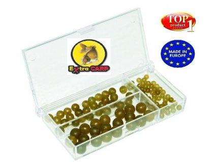 Extra Carp Rubber Beads Set 100ks