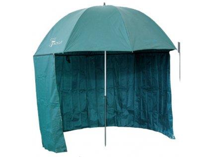 Deštník PVC s bočnicí