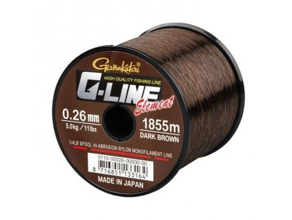 Gamakatsu G-Line Element Dark Brown