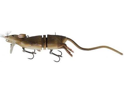 Savage Gear 3D Rad potkan Hnědá 20cm 32g