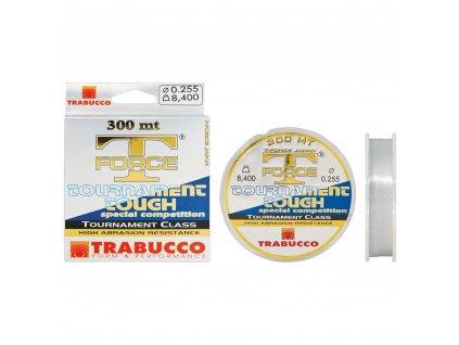 Vlasec Trabucco T-Force Tournament (Průměr vlasce 0,128mm 2,1kg)