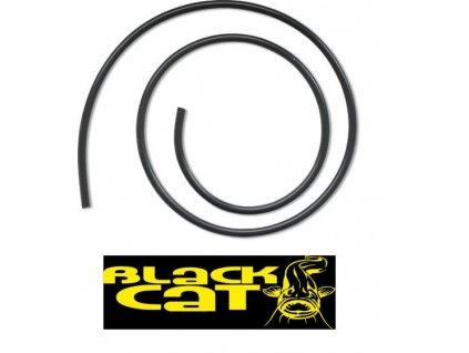 Silikonová hadička Black Cat černá 1m 5mm