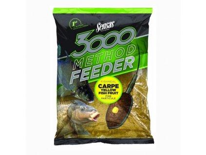 Sensas 3000 Method Feeder Carpe - žlutý