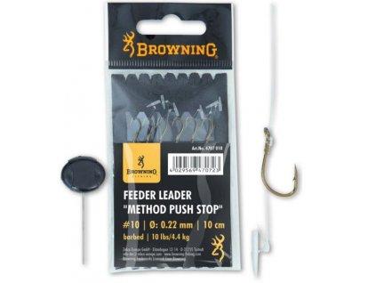 Browning návazec METHOD (Balení Vlasec 0,22mm háček 12)