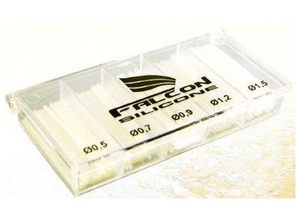 Sada silikon bužírek řezané 0,5-1,5mm